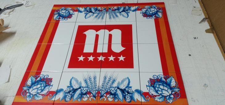 Impresión de azulejos personalizados