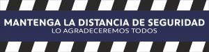 ADHESIVO MANTENGA LA DISTANCIA 60CM